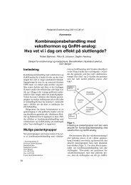 Kombinasjonsbehandling med veksthormon og GnRH-analog: Hva ...