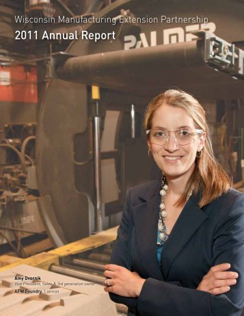 2011 Annual Report - Wisconsin Manufacturing Extension Partnership