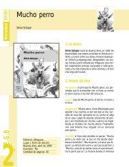 Guía Mucho perro - Alfaguara Infantil
