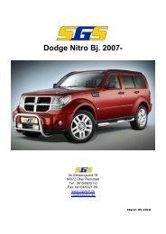 Dodge Nitro Bj. 2007- - SGS