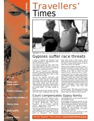 Issue 20 - Travellers' Times