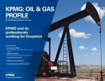 KPMG: OIL & GAS PROFILE - Ecopetrol
