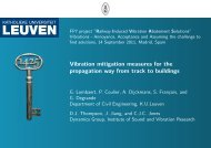 Panel 2 - Track - G. Lombaert, KUL - rivas