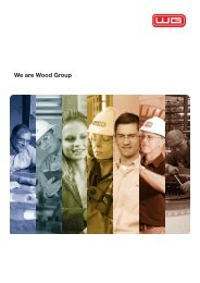 We are Wood Group - Mustang Engineering Inc.