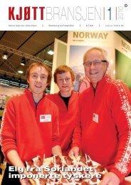 Bladet Kjøttbransjen nr 01 2010 - Kjøtt- og fjørfebransjens ...