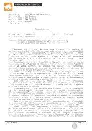 Settore E Promozione del Territorio Servizio BG UOA Turismo U.O. ...