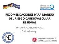 recomendaciones para manejo del riesgo cardiovascular residual