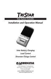 Product Manual - Wholesale Solar