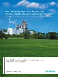 How does cement production become energy efficient and ...