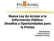 Presentación Moisés Sánchez - Facultad de Comunicaciones UDD
