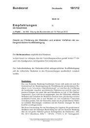 Bundesrat 10/1/12 Empfehlungen - Umwelt-online