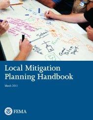 Local Mitigation Planning Handbook - Division of Homeland ...