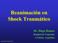 Reanimación en Shock Traumático - Reeme.arizona.edu