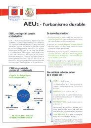 Plaquette descriptive AEU 2 (PDF-2.1 Mo) - Ademe Ile de France