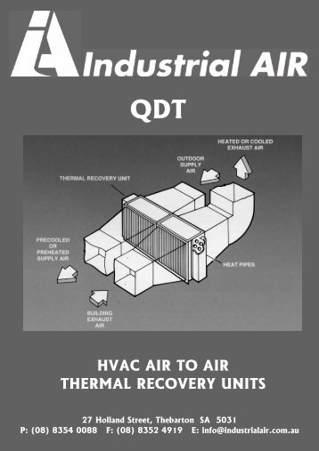 Muller QDT Brochure - Industrial Air