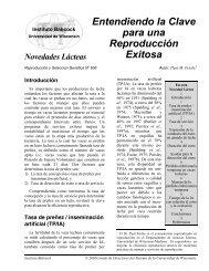 Entendiendo la Clave para una Reproducción ... - Babcock Institute