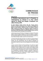 Le Syndicat Intercommunal pour la Protection et l'Aménagement du ...