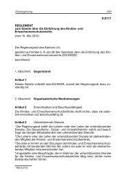 Reglement zum EG KESR vom 15. Mai 2012