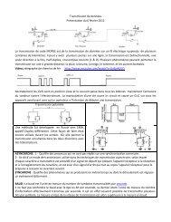 Introduction à la transmission de données