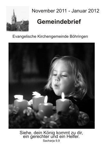 1 . Advent , dem 27. November 2011 um 14.00 Uhr