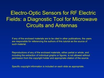 Electro-Optic Electric-Field Sensing - IEEE Sensors Council