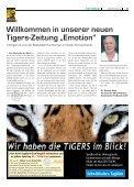 Die Tigers brüllen wieder! Saisonauftakt gegen die ... - Walter Tigers - Seite 3