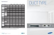 Samsung Ducted Mini Splits Catalog.pdf - Quietside
