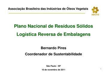 (Microsoft PowerPoint - 20. Palestra Bernardo - Semin\341rio ...