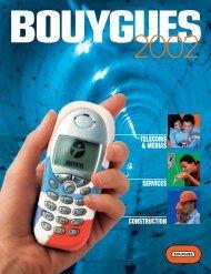 SERVICES TELECOMS & MEDIAS CONSTRUCTION - Bouygues