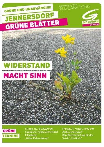 Juni - Die Grünen – Burgenland