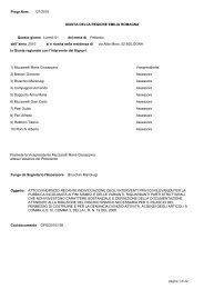 Delibera Giunta Regionale 121/2010 - Comune di Modena