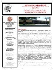 Lathrop Intermediate School - Santa Ana Unified School District