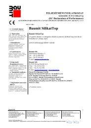 SilikatTop - TNy - Baumit