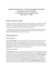 "National Research Program ""Climate Change Impact on the Water ..."