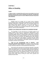 Office on Disability - Autism Resource Centre