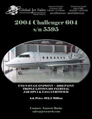 2004 Challenger 604 s/n 5595 - Business Air Today