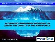 Water Framework Directive and emerging substances - NBV