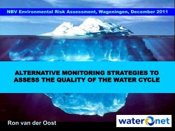 Water Framework Directive and emerging substances - NBV