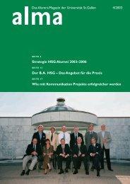 Der BA HSG – Das Angebot für die Praxis - HSG Alumni - Universität ...
