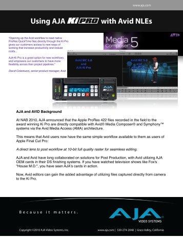 AJA Ki Pro and Avid.pdf - Fofic