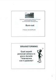 Lezione XII Gestione dello stress e burn-out (pdf, it, 9483 KB, 1/17/13)