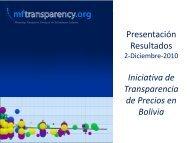 174 Productos - MFTransparency.org