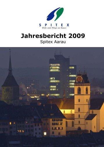 Jahresbericht 2009 - Spitex Aarau