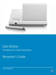 Dell S500wi - Tool Factory