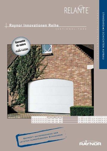 German Relante Literature 03-05.qxp - Raynor Garage Doors