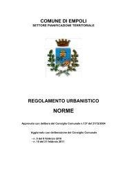 Scarica le Norme in versione pdf - Unione dei Comuni del Pratomagno