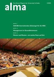 SEITE 13 Management Im Gesundheitswesen - HSG Alumni ...