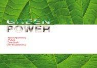 Wartung - Garantieheft für Ihr Erdgasfahrzeug - GreenPower