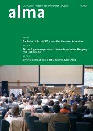 Bachelor of Arts HSG – der Abschluss mit Anschluss ...