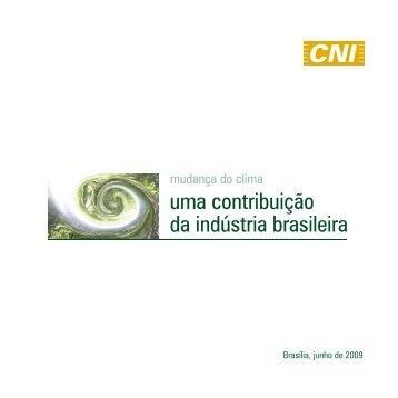 Mudança do Clima: Uma Contribuição da Indústria Brasileira - CNI